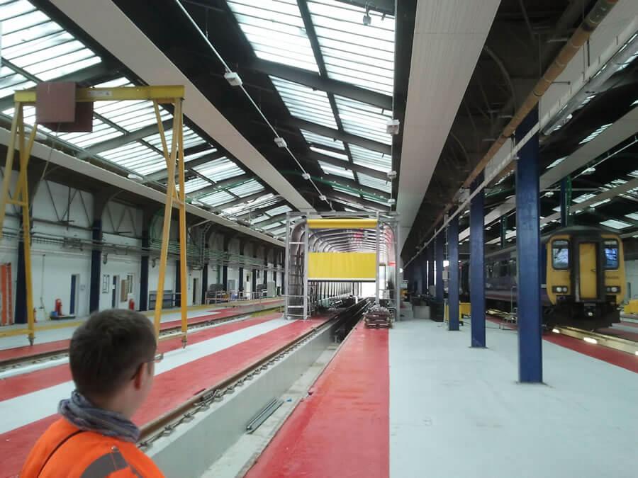 Train Depot Flooring