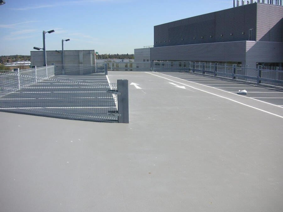 Car Park Flooring at Lonza