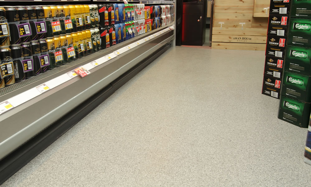 Shop Flooring At Retail Units In Wirral