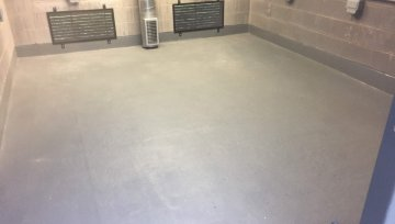 Chemical Resistant Flooring at Christies Hospital