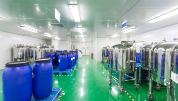 Polyurethane Screed flooring for FMC Chemicals