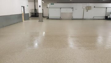 New Resin Flooring Solution At Aldi Warehouse