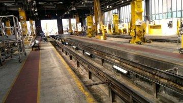 Floor Installation at Neville Hill Train Depot