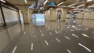 Boots Factory gets new epoxy screed floor