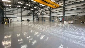 Acid Resistant Flooring for Manufacturing