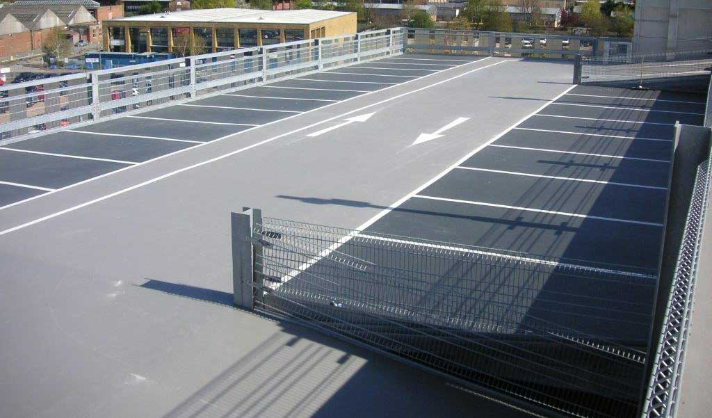 Completed Car Park Floor Finish at Lonza