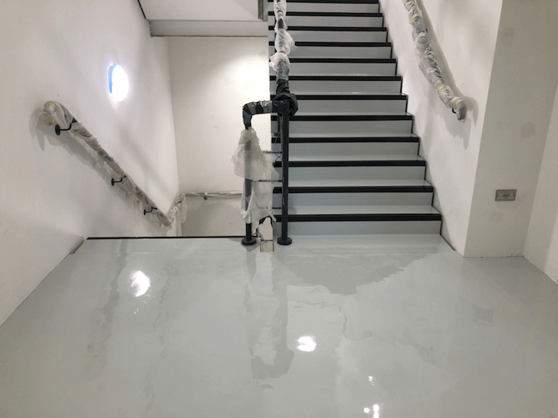 Epoxy Staircase in Oxford
