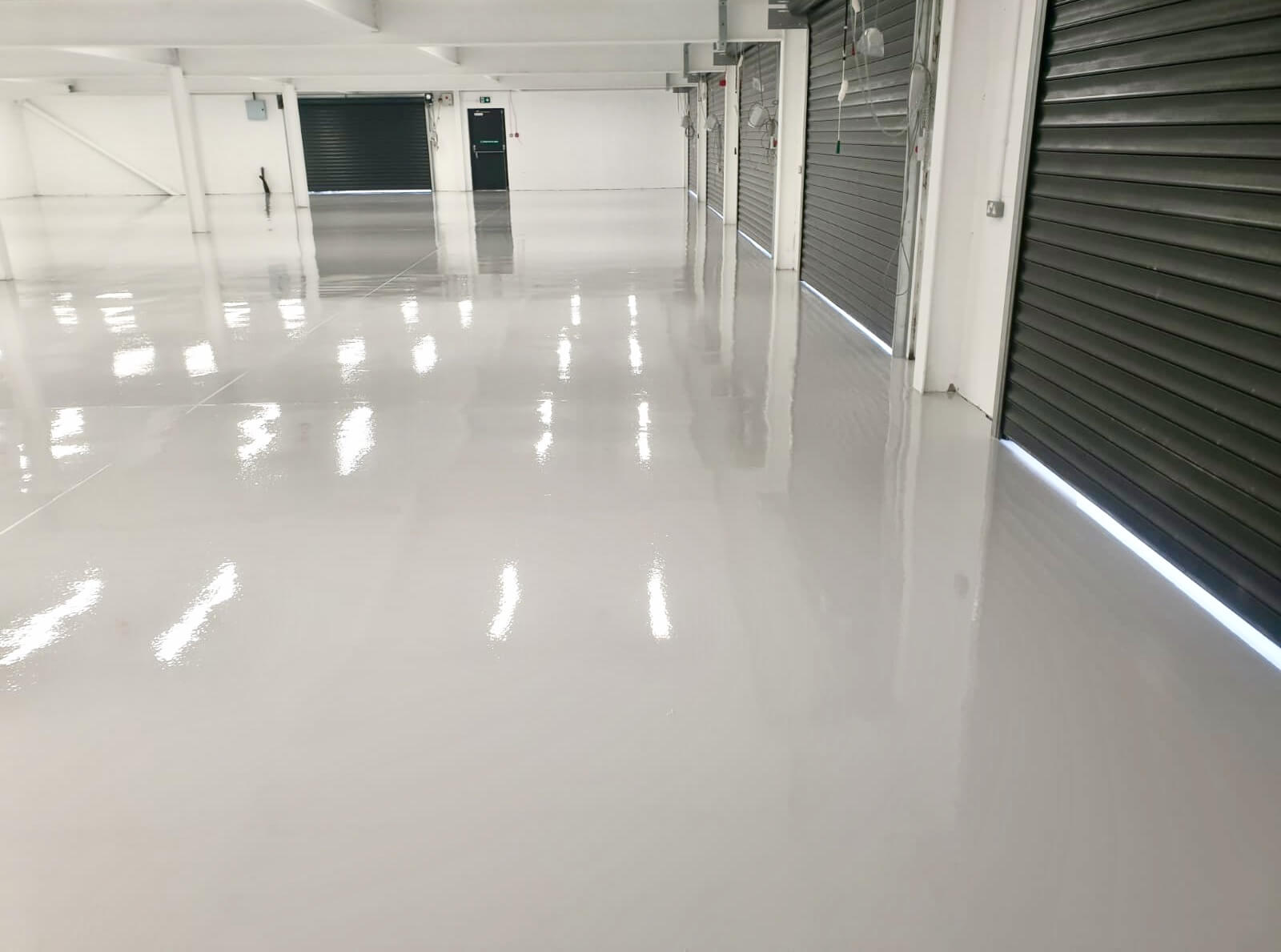 Completed Self Levelling epoxy
