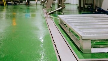 New Resin Factory Flooring For Welsh Lady Preserves
