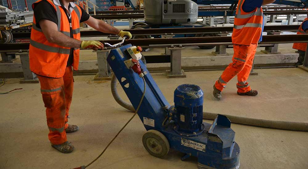 Flowstone Floor Preparation Machine